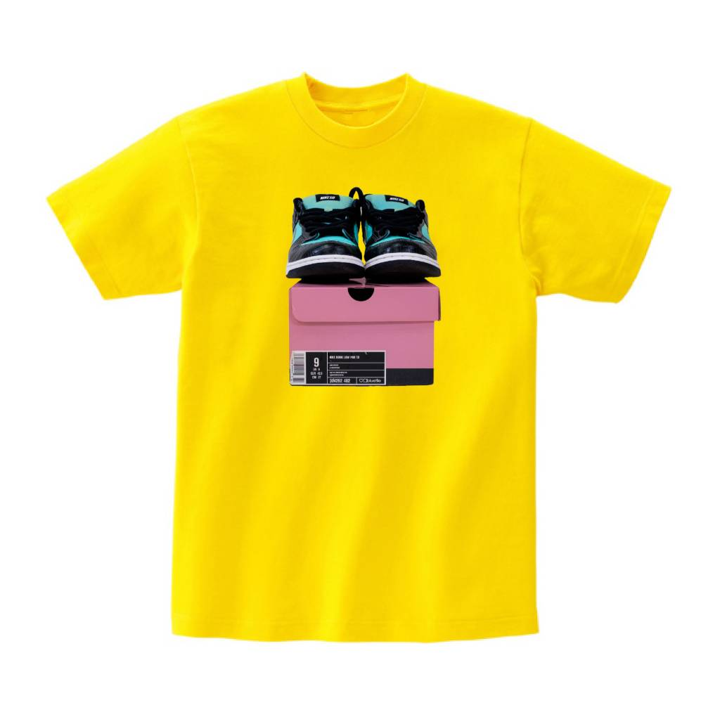 BLUETILE BLUETILE FRIENDS AND FAMILY T-SHIRT CANARY