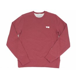 BLUETILE BLUETILE LOVE CHAMPION CREWNECK RED