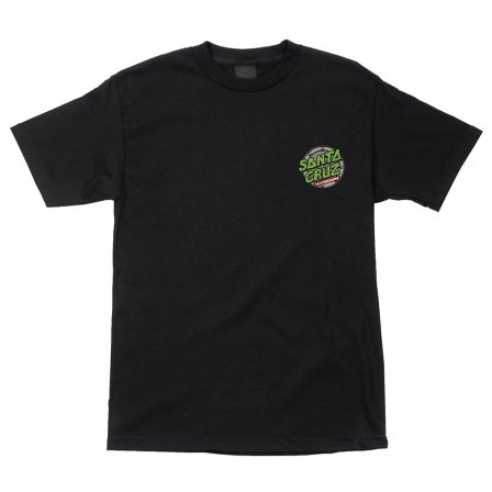 SANTA CRUZ SANTA CRUZ TMNT SEWER DOT T-SHIRT BLACK