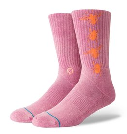 STANCE STANCE SOCKS BUZZED MAGENTA LARGE
