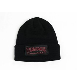 THRASHER THRASHER CHINA BANKS BEANIE BLACK