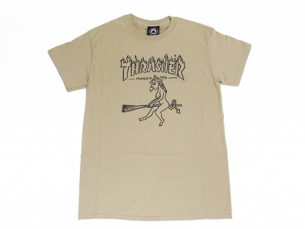 THRASHER THRASHER WITCH T-SHIRT TAN