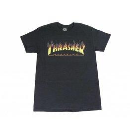 THRASHER THRASHER BBQ LOGO T-SHIRT BLACK