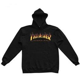 THRASHER THRASHER BBQ LOGO HOODIE BLACK