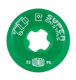 RICTA RICTA SUPER CRYSTALS GREEN 99a 52mm
