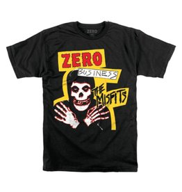 ZERO ZERO X MISFITS ZERO BUSINESS T-SHIRT BLACK