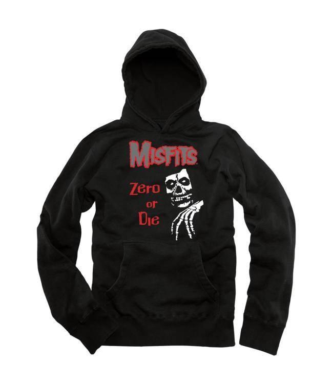 ZERO ZERO X MISFITS LEGACY PULLOVER BLACK