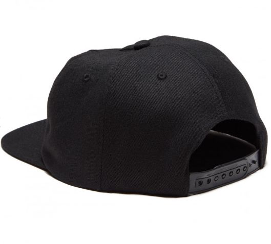 THRASHER THRASHER OUTLINED SNAPBACK BLACK