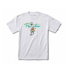 PRIMITIVE PRIMITIVE X RICK & MORTY NUEVO T-SHIRT WHITE