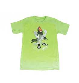 BLUETILE BLUETILE STAPLE PANDA PIGEON T-SHIRT LIME GREEN