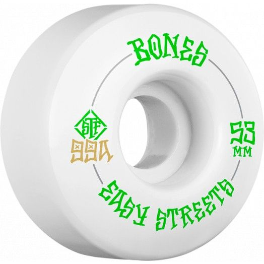 BONES BONES WHEELS EASY STREETS 53MM 99a V1