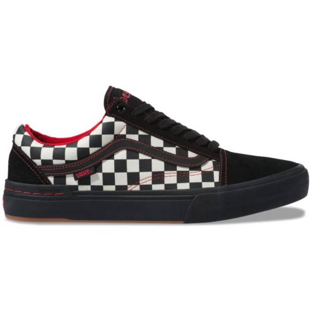VANS OLD SKOOL PRO BMX PERAZA BLACK CHECKER