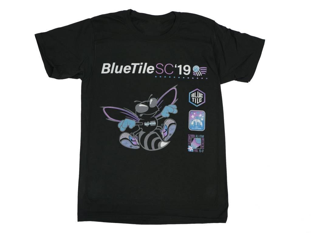 BLUETILE BLUETILE BLACK HORNET T-SHIRT BLACK