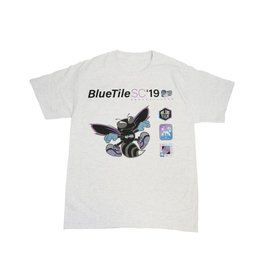 BLUETILE BLUETILE BLACK HORNET T-SHIRT GREY