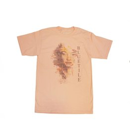 BLUETILE BLUETILE WATER COLOR T-SHIRT CANDY ORANGE