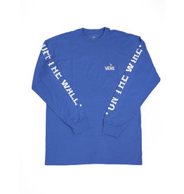VANS VANS X ANTI HERO ON THE WIRE LONG SLEEVE BLUE