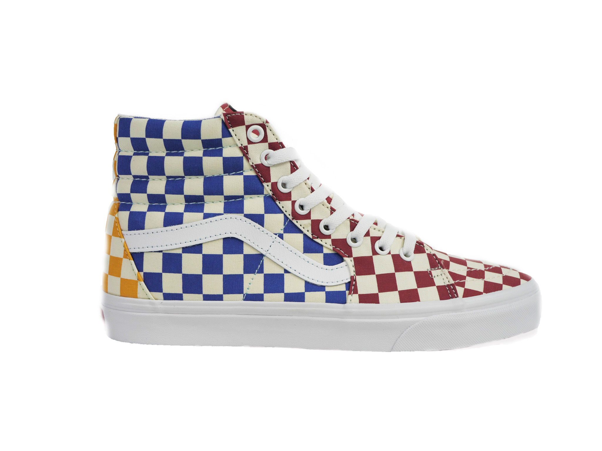 VANS VANS SK8-HI CHECKERBOARD MULTI / TRUE