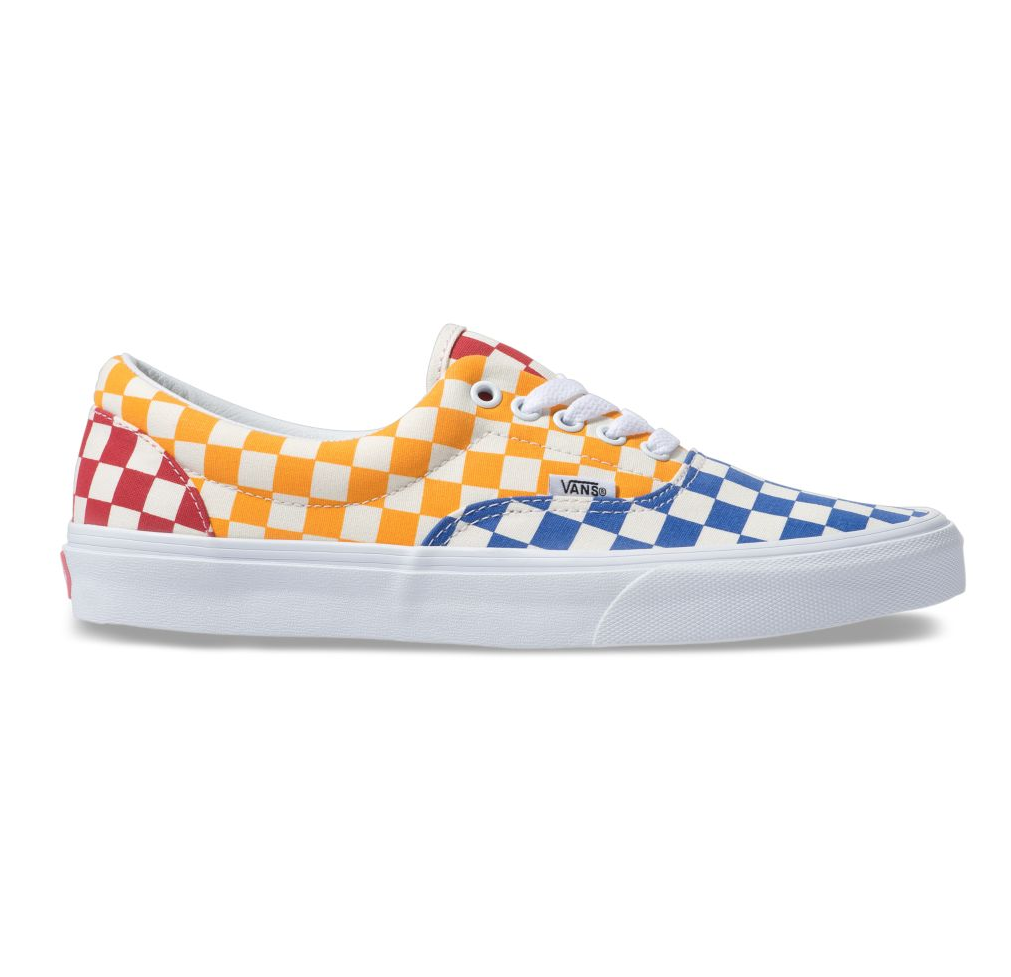 VANS ERA CHECKERBOARD MULTI / TRUE