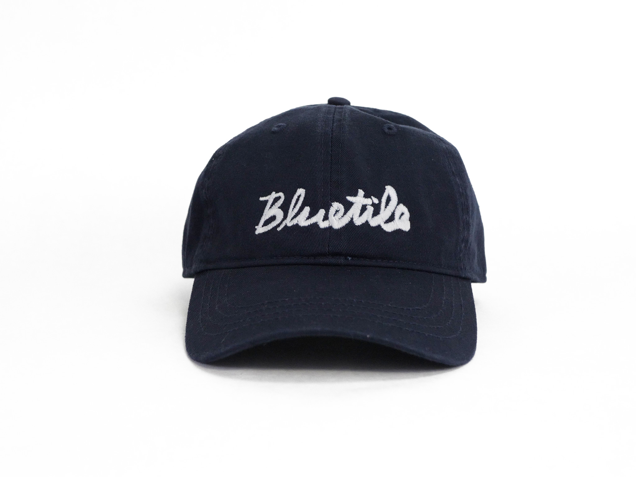 BLUETILE BLUETILE CURSIVE DAD HAT NAVY