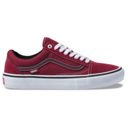 VANS VANS OLD SKOOL PRO RUMBA RED / WHITE
