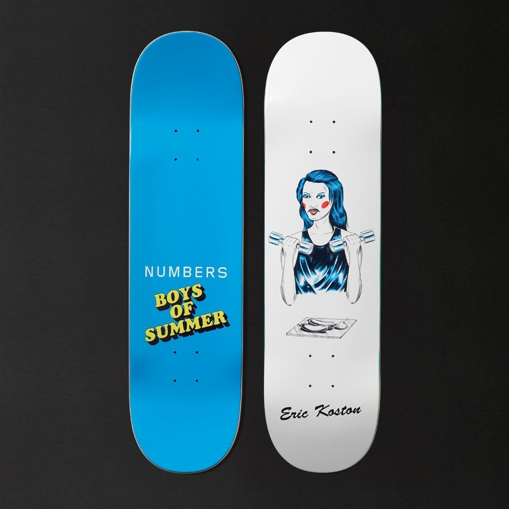 NUMBERS EDITION NUMBERS EDITION KOSTON BOYS OF SUMMER 8.4