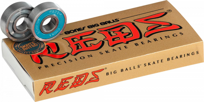 BONES BONES REDS BIG BALLS BEARINGS 8 PACK