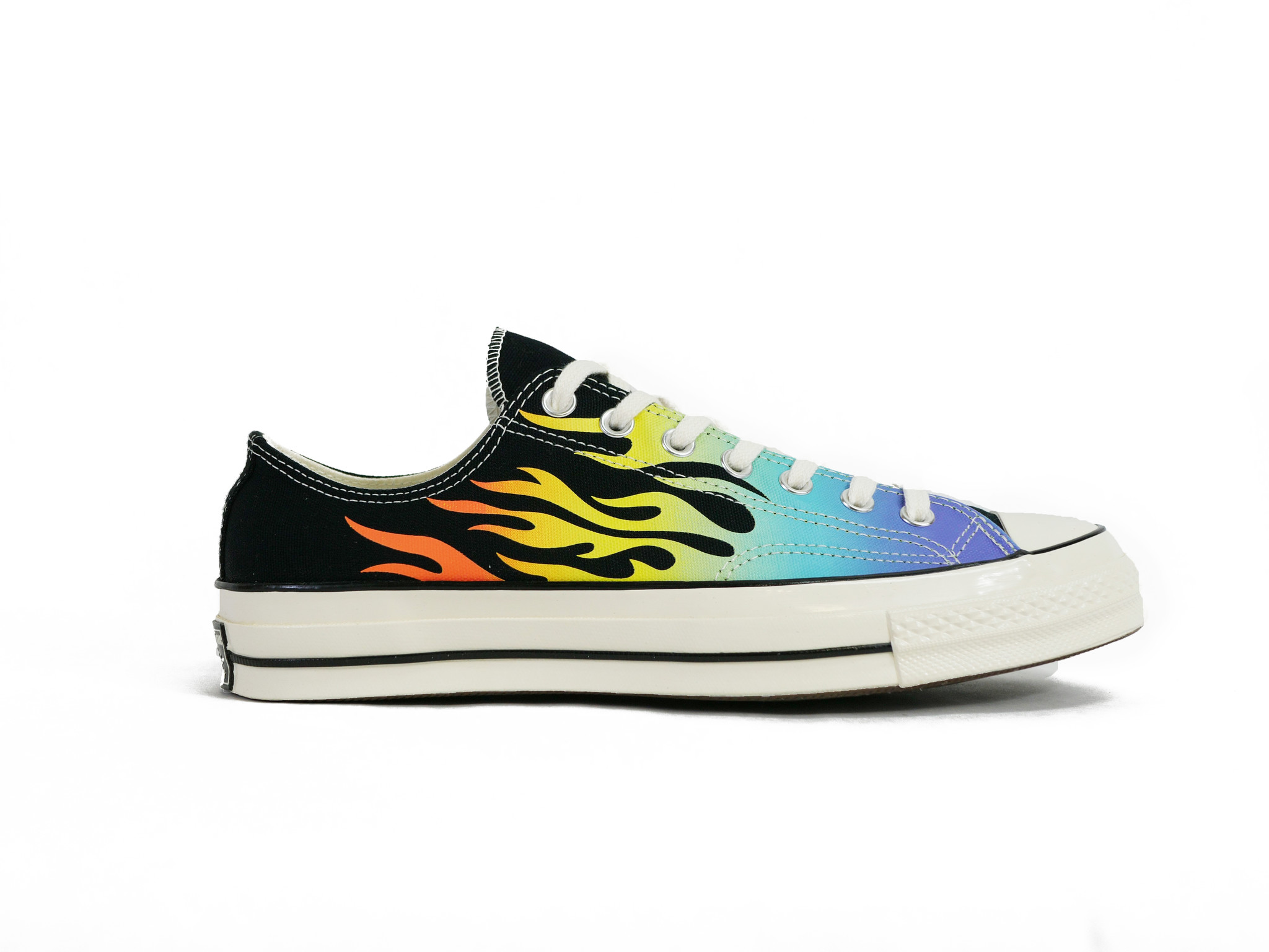 buy popular e3849 319c7 CONVERSE CHUCK 70 LOW ARCHIVE FLAME PRINT