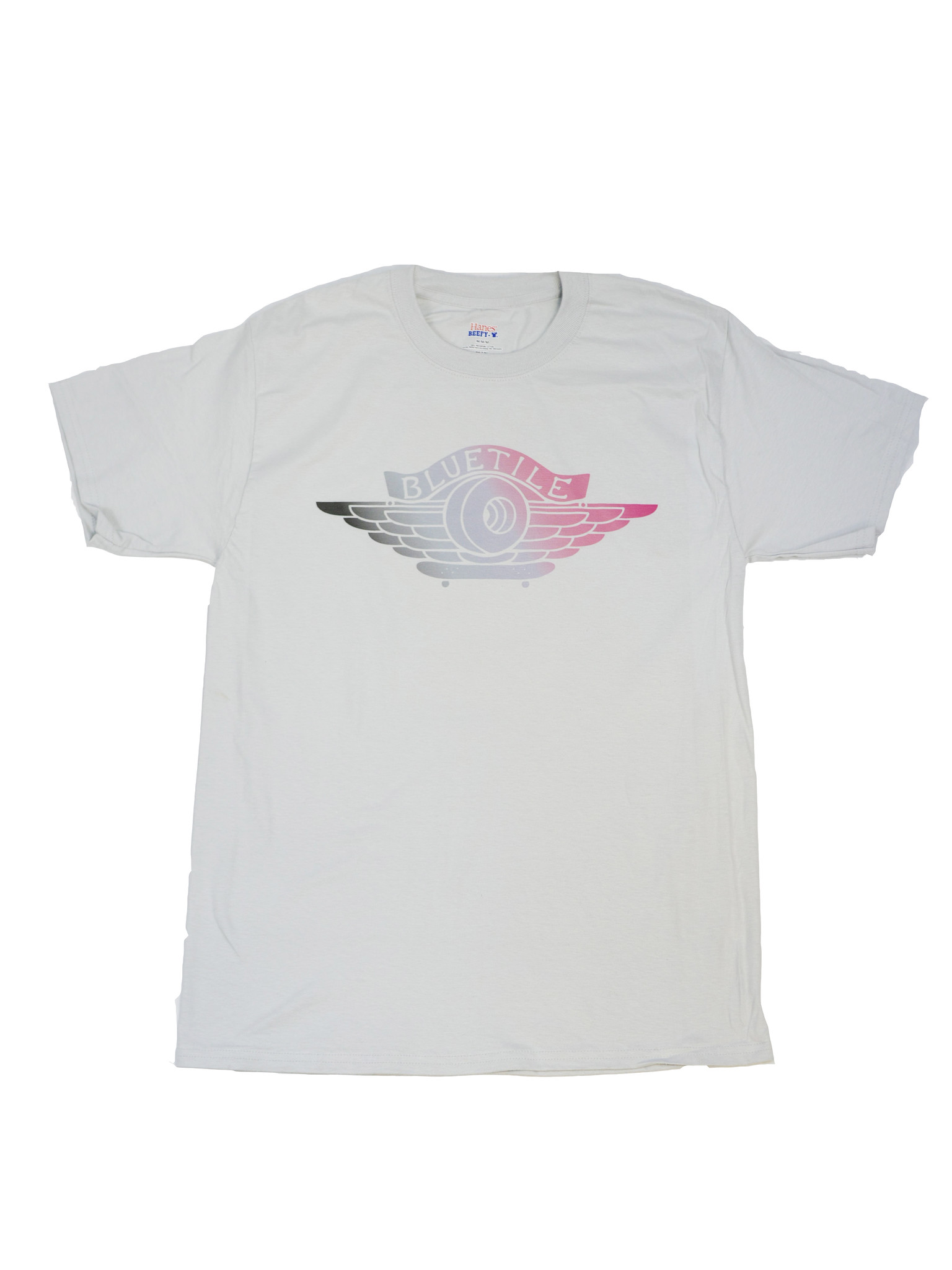 BLUETILE BLUETILE NY TO PARIS JORDAN 1 T-SHIRT GREY