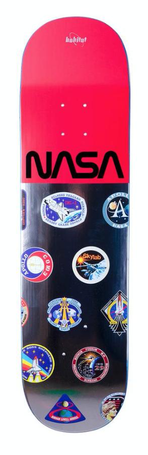 HABITAT HABITAT X NASA LOGO ARRAY 8.125