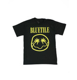 BLUETILE BLUETILE PALMETTO SMILES T-SHIRT BLACK