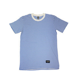 BLUETILE BLUETILE SURPLUS STRIPED TEE BLUE / WHITE