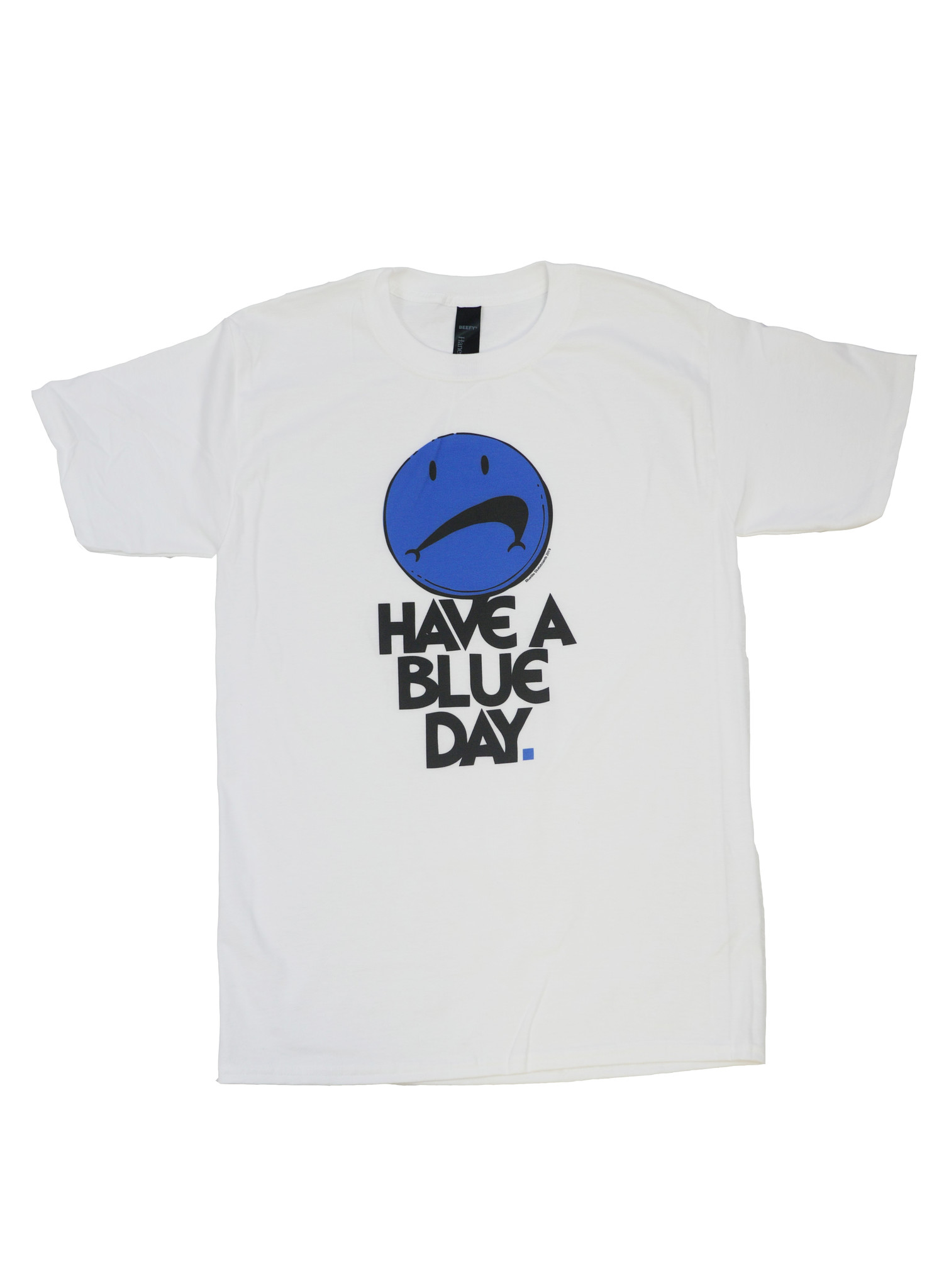 BLUETILE BLUETILE HAVE A BLUE DAY T-SHIRT WHITE