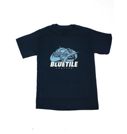 BLUETILE BLUETILE BLUE LOBSTER T-SHIRT
