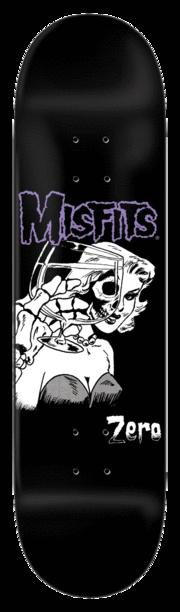 ZERO ZERO X MISFITS DIE DIE 8.25