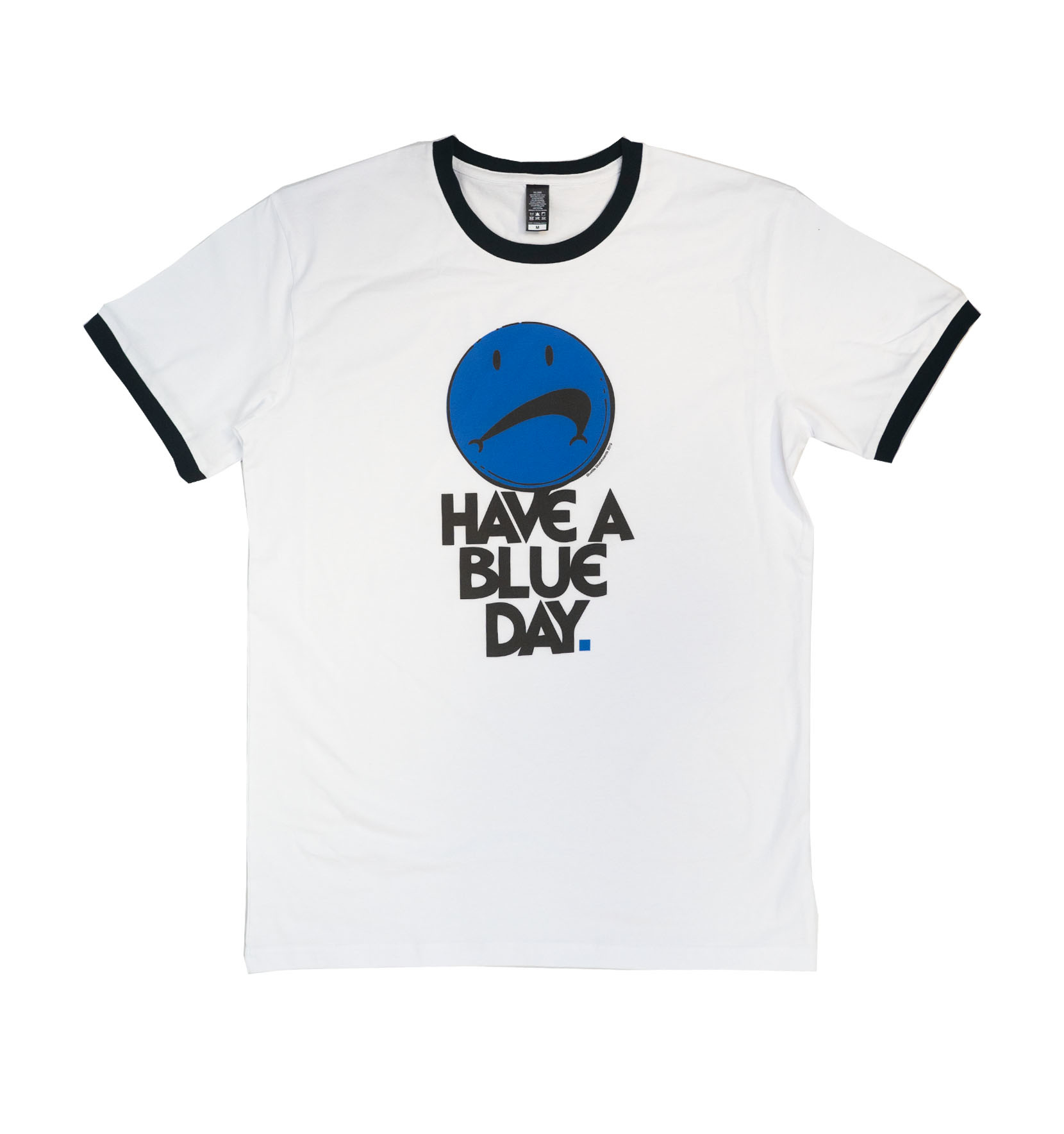 BLUETILE BLUETILE HAVE A BLUE DAY RINGER TEE NAVY