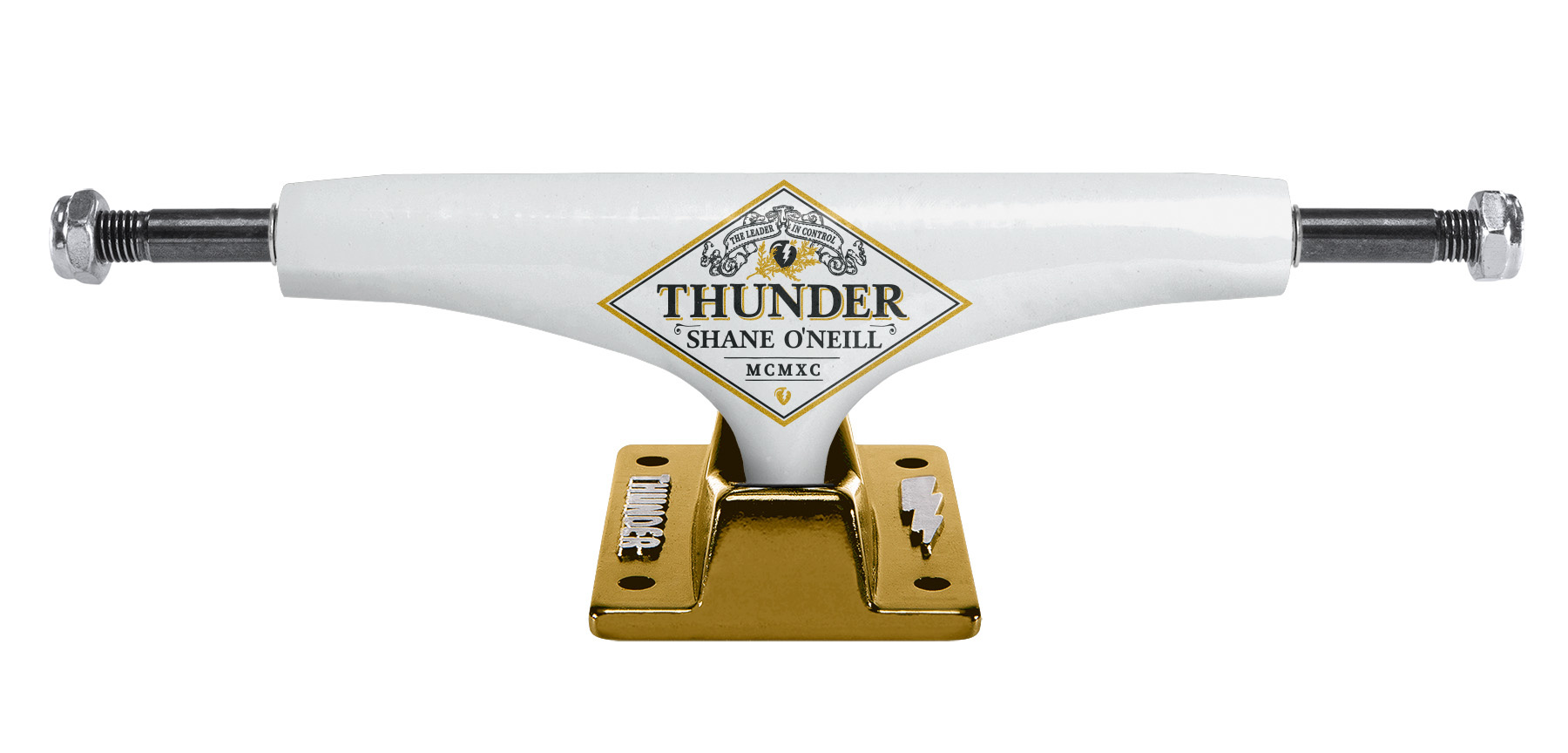 THUNDER THUNDER TRUCKS 148 O'NEILL HOLLOW WHITE (SET OF TWO)