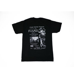 BLUETILE BLUETILE FUGAZI FLYER T-SHIRT BLACK