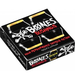 BONES BONES HARDCORE BUSHINGS MEDIUM BLACK/YELLOW