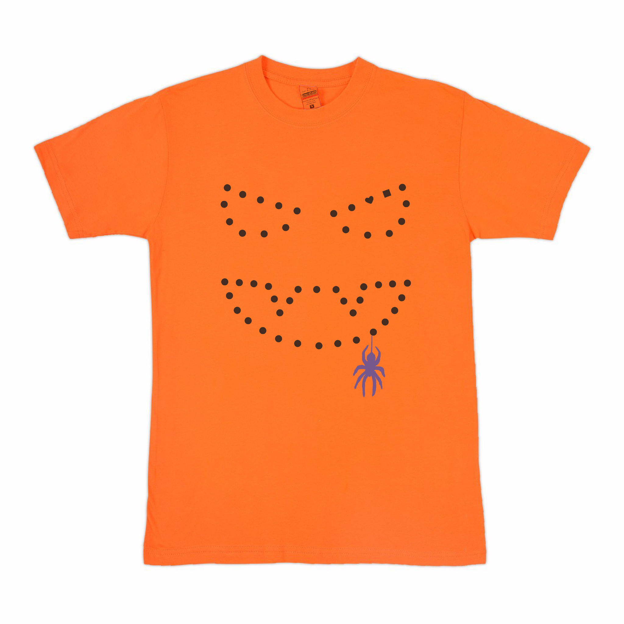 BLUETILE BLUETILE NIGHT OF MISCHIEF T-SHIRT ORANGE