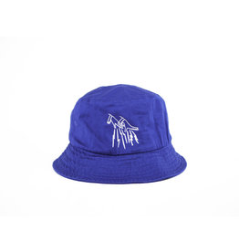 FAKE JUNK FAKE JUNK LOGO BUCKET HAT ROYAL