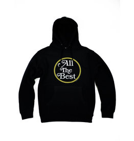"BLUETILE BLUETILE ""ALL THE BEST"" LOGO HOODIE NAVY"