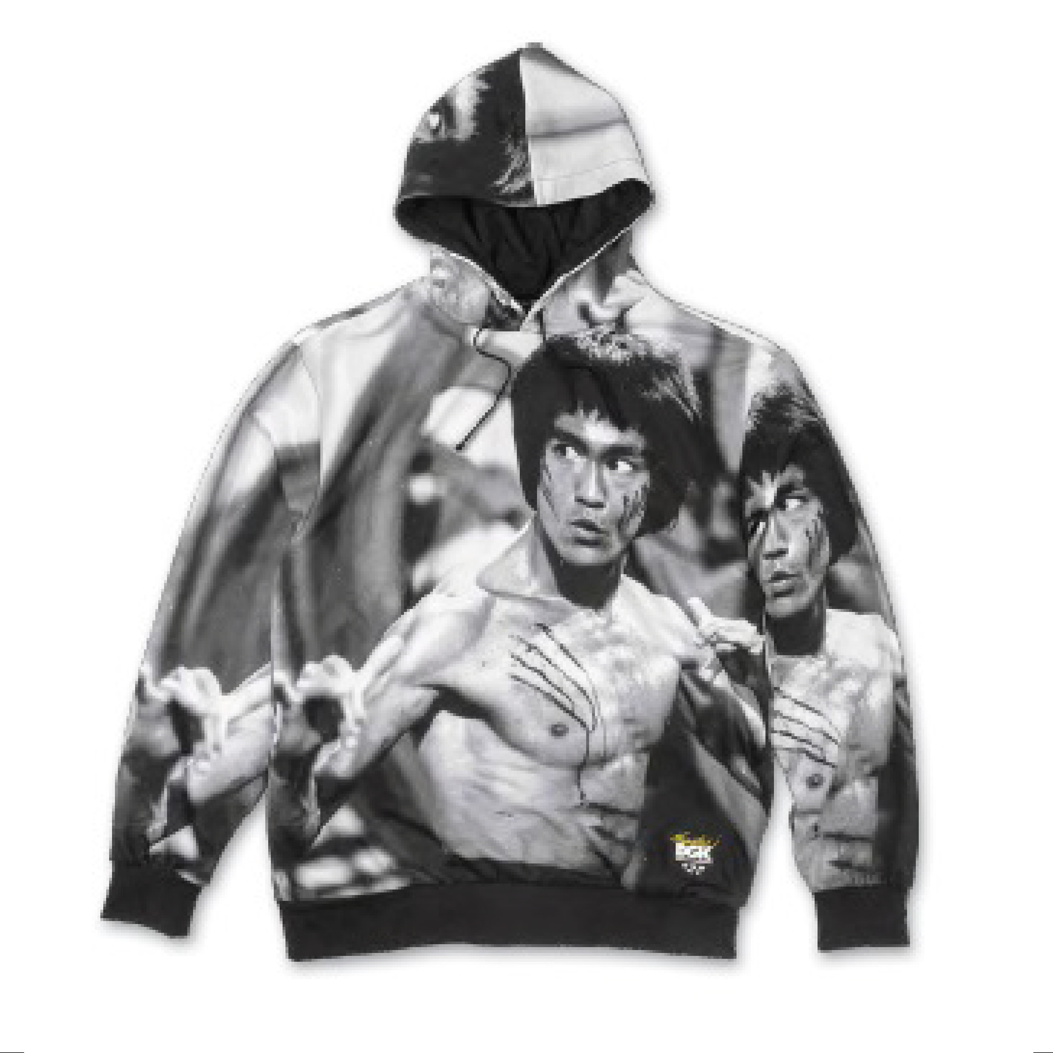 DGK DGK X BRUCE LEE SCRATCH FLEECE HOODIE