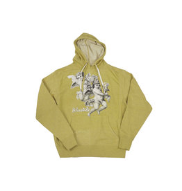 BLUETILE BLUETILE ANGELS GRAPHIC HOODIE GOLDEN WHEAT