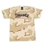 THRASHER THRASHER CALLIGRAPHY T-SHIRT DESERT CAMO