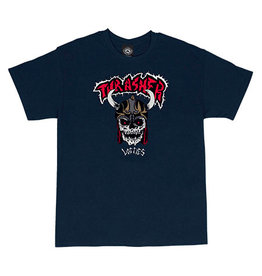 THRASHER THRASHER X LOTTIES T-SHIRT NAVY