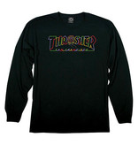 THRASHER THRASHER CABLE CAR LONG SLEEVE BLACK