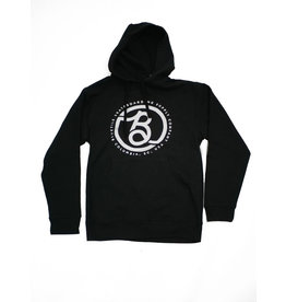 BLUETILE BLUETILE SUPPLY CO. LOGO HOODIE BLACK