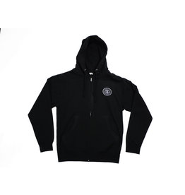 BLUETILE BLUETILE SUPPLY CO. ZIP HOODIE BLACK