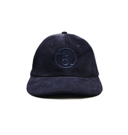BLUETILE BLUETILE SUPPLY CO CORDUROY STRAP BACK NAVY