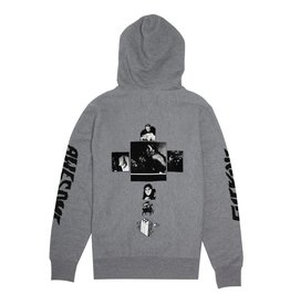 FUCKING AWESOME FUCKING AWESOME FAITH HOODIE HEATHER GREY